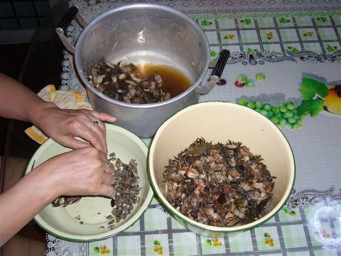 螃蜞酥和螃蜞酱