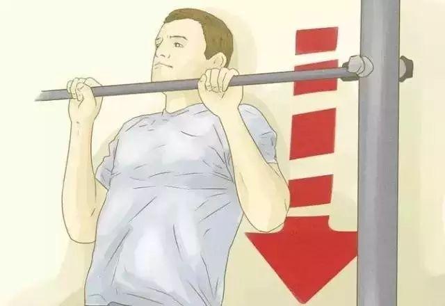 弹力绳辅助引体向上训练