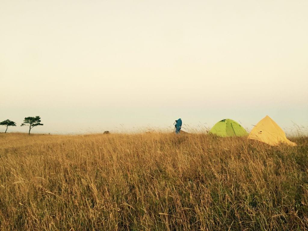 白溪草露营