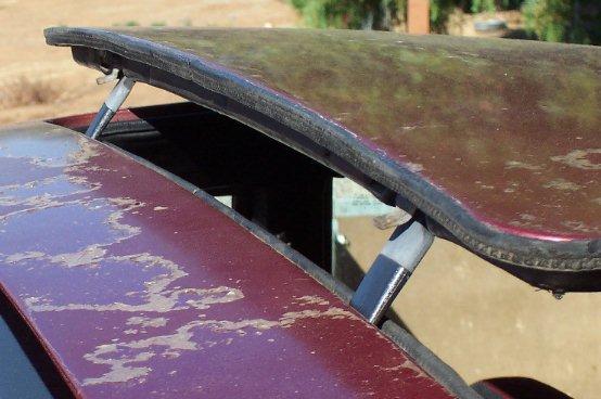 早期汽车天窗