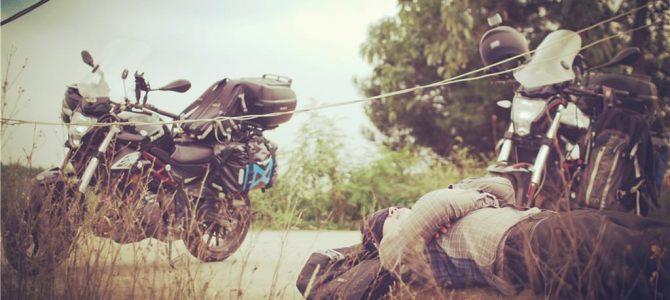 【摩旅】跑在省外的国道上