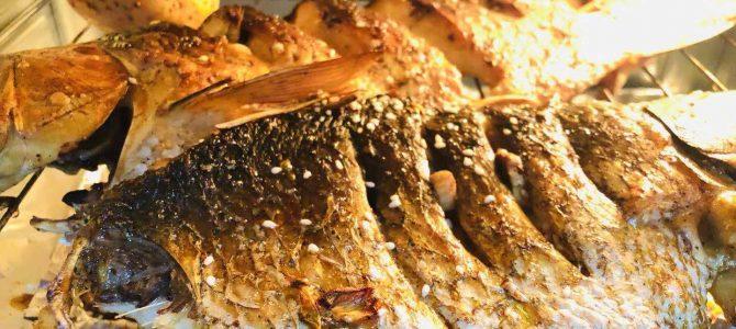 教你如何在家用烤箱做烤鱼