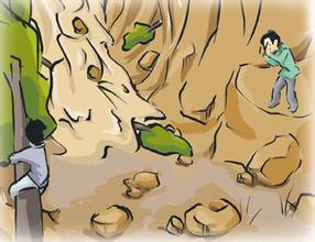 遇到泥石流时如何逃生自救