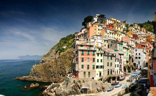 意大利美丽小镇 五渔村
