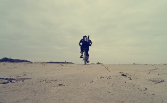 骑去海边钓大鱼