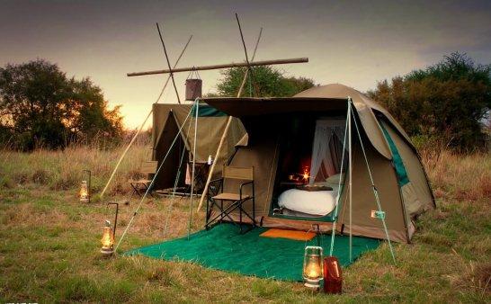 教你如何折叠帐篷