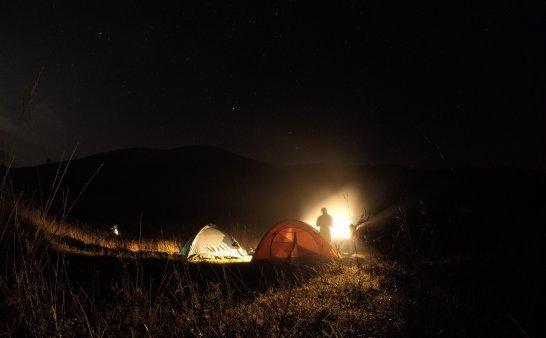 白溪草场摩旅露营